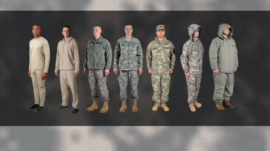 Всепогодная система одежды ECWCS III поколения